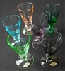 1950s/1960s Multicoloured Liqueur/Cocktail Glasses - Sold
