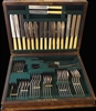 Frank Cobb & Co 1907 Silver Plate 69-Piece Cutlery Canteen - Sold