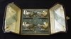 Josiah Adams & Sons 1869 Boxed Silver Plated Salts - Sold