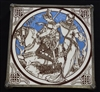 Moyr Smith Morte D'Arthur Lynette Tile - Sold