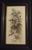 Oil Painting of Roses on Ceramic Signed AHH 1910 - Sold