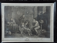 1747 Print by Thomas Major The Country Surgeon
