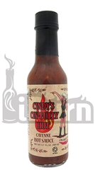 Cin Chili Cindy's Cin-Fully Hot Cayenne Hot Sauce