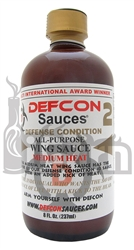 "<h3>Defcon Sauces ""Defense Condition 2"" Medium Heat Wing Sauce</h3>"