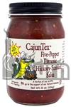<h3>CajunTex Hickory Smoked Five-Pepper Salsa</h3>