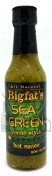 Bigfat's Sea of Green Verde Style Hot Sauce