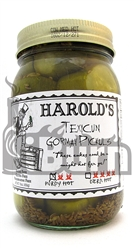 Harold's Texicun Purdy Hot Gourmet Pickles