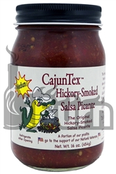 CajunTex Hickory-Smoked Medium Salsa