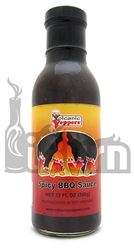 <h3>Volcanic Peppers Lava Spicy BBQ Sauce</h3>