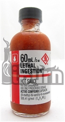CaJohns Lethal Ingestion Hot Sauce