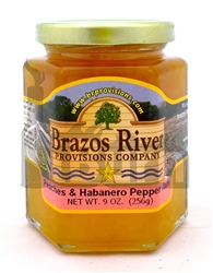Brazos River Provisions Peaches & Habanero Pepper Jam