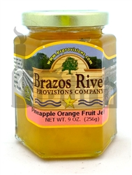 Brazos River Provisions Pineapple Orange Fruit Jelly