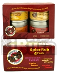Sauce Goddess Spice Rub 4 Pack