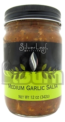 SilverLeaf Medium Garlic Salsa