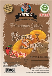 Katie's Spicy Brown Sugar Pineapple Jerky