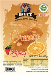 <h3>Katie's Spicy Mandarin Orange Pineapple Jerky</h3>
