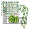 Fancy Wasabi Candy Canes