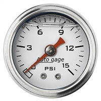 Liquid Filled Mechanical Fuel Gauge