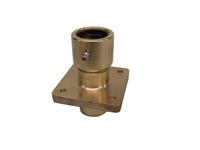 Rudder Stuffing Box Double Seal Brass 1 1/8""