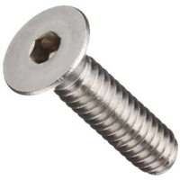 10-24 Flat Head Socket Cap Screws Stainless Steel