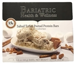 salted toffee pretzel protein bar snack diet bariatric