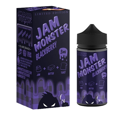 Jam Monster Blackberry 100mL $12.99 Blackberry Jam Vape - EJuice Connect