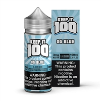 Blue Slushie by Keep it 100 E-Liquid - 100ml $12.99 Vape Juice - EJuice Connect