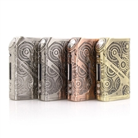 Tesla Nano 120W TC Steampunk Box Mod SALE $34.99 - EJuice Connect