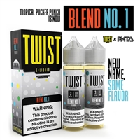 Fruit Twist E-Liquid - Tropical Pucker Punch 120mL $12.99 - EJuice Connect