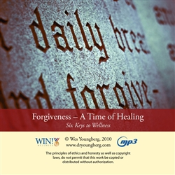 Forgiveness - A Time of Healing