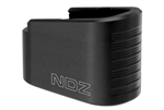 NDZ Performance Glock G43 Plus 2 P2 +2 Capacity Extension Magazine Floor Base Plate Black 9MM