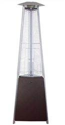 Commercail Hammerd Bronze Flame Patio Heater