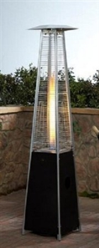 Garden Radiance GRP4000BK Dancing Flames Pyramid Outdoor Patio Heater Replacement Glass Tube