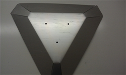 Triangle Glass Tube Heat Reflector