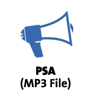 Public Service Announcement mp3 file