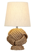 Rope Knot Table Lamp