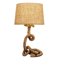 Rope Table Lamp L137