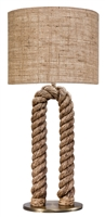 Arch Rope Table Lamp