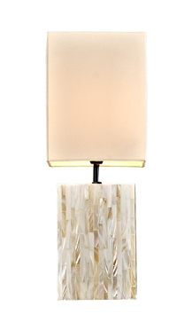 Mother Of Pearls Lamp