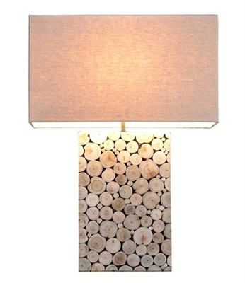 Large Mosaic Table Lamp