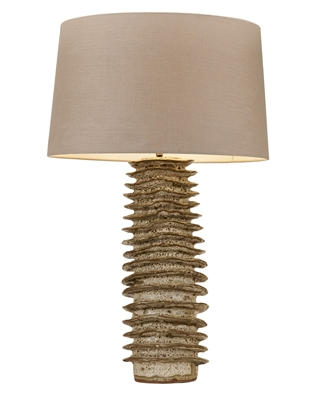 Tubular Ceramic Lamp