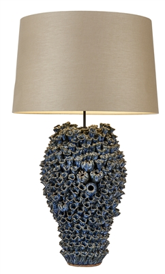 Blue Original Ceramic Lamp