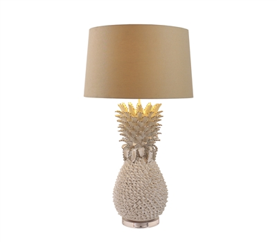 Large Pineapple Ceramic Lamp L492W