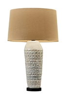 White Ceramic Tuscany Table Lamp