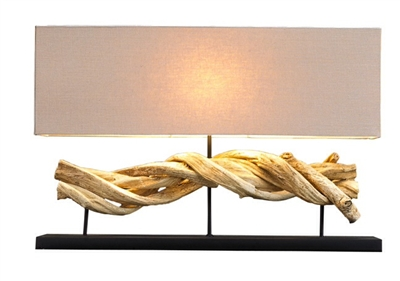 Natural Vine Lamp