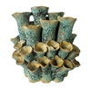 SEA FLOWERS VASE GREEN V112