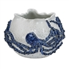 Blue & White Octopus Bowl V145W