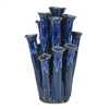 Royal Blue Coral Vase V148