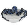 Blue & White Octopus Bowl V161W