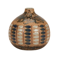 Earth Tone S.W Look Ceramic Vase V201L